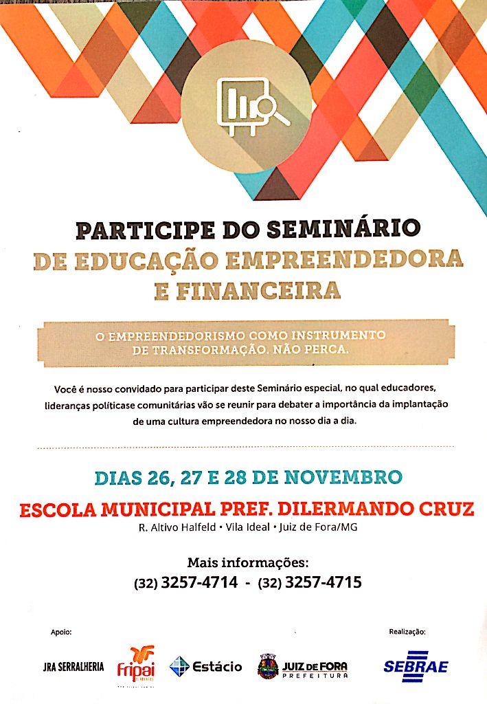 SEMINÁRIO DE EDUCAÇÃO EMPREENDEDORA 1